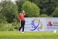 Minkyu Kim (KOR) tees off the 4th tee during Sunday's Final Round of the Northern Ireland Open 2018 presented by Modest Golf held at Galgorm Castle Golf Club, Ballymena, Northern Ireland. 19th August 2018.<br /> Picture: Eoin Clarke | Golffile<br /> <br /> <br /> All photos usage must carry mandatory copyright credit (&copy; Golffile | Eoin Clarke)