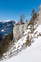 Austria, East-Tyrol, Lienz: Mountain Inn Lienz Dolomites hut (1.616 m) at Lienz Dolomites | Oesterreich, Ost-Tirol, Lienz: Lienzer Dolomitenhuette (1.616 m) in den Lienzer Dolomiten