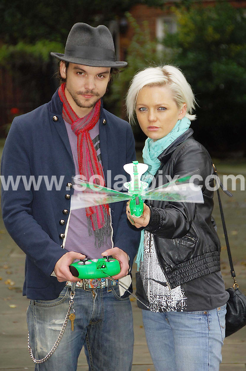 **ALL ROUND EXCLUSIVE PICTURES FROM SOLARPIX.COM**.**WORLDWIDE SYNDICATION RIGHTS**.Andrew-Lee Potts and Hannah Spearritt attend the Top 10 toys Dream Toys Photocall at St. Marys Church on October 10, 2007 in London. ..JOB REF:   4932     MSR    DATE: 10.10.07.**MUST CREDIT SOLARPIX.COM OR DOUBLE FEE WILL BE CHARGED* *UNDER NO CIRCUMSTANCES IS THIS IMAGE TO BE REPRODUCED FOR ANY ONLINE EDITION WITHOUT PRIOR PERMISSION*