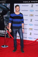 "Derek Theler<br /> at the ""Captain America: The Winter Soldier"" Los Angeles Premiere, El Capitan, Hollywood, CA 03-13-14<br /> David Edwards/DailyCeleb.com 818-249-4998"