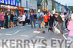 Action from the finish line on the Main Street of Cahersiveen for the Terrier Racing Event.