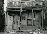 UNDATED..Redevelopment.Project#1 (UR1-1)..Young Park area.Slum Conditions..Ann Zane.NEG#.NRHA# 364..