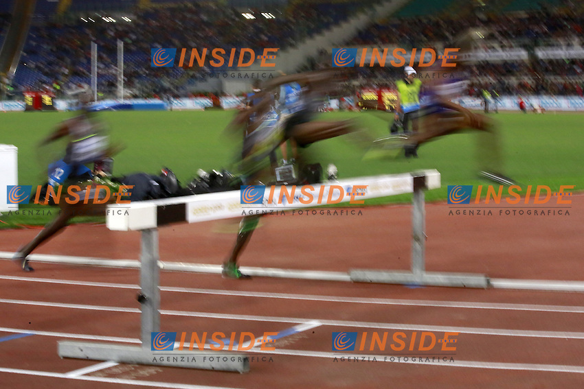 3000m Steeplechase Men  <br /> Roma 02-06-2016 Stadio Olimpico.<br /> IAAF Diamond League 2016<br /> Atletica Legera <br /> Golden Gala Meeting - Track and Field Athletics Meeting<br /> Foto Cesare Purini / Insidefoto