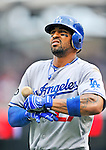 5 September 2011: Los Angeles Dodgers outfielder Matt Kemp in action against the Washington Nationals at Nationals Park in Los Angeles, District of Columbia. The Nationals defeated the Dodgers 7-2 in the first game of their 4-game series. Mandatory Credit: Ed Wolfstein Photo