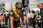 Robert Gesink (NED) Lotto NL-Jumbo crosses the finish line of the 2018  Liège-Bastogne-Liège, Belgium, 22 April 2018, Photo by Pim Nijland / PelotonPhotos.com | All photos usage must carry mandatory copyright credit (Peloton Photos | Pim Nijland)