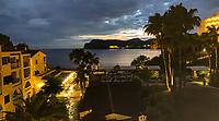 Küste am Hapimag Resort in Paguera  im Sonnenuntergang - Peguera 25.05.2019: Mallorca