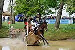 6th May 2017, Alexander Bragg riding Zagreb during the Cross Country phase of the 2017 Mitsubishi Motors Badminton Horse Trials, Badminton House, Bristol, United Kingdom. Jonathan Clarke/JPC Images