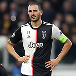 Leonardo Bonucci of Juventus during the UEFA Champions League match at Juventus Stadium, Turin. Picture date: 26th November 2019. Picture credit should read: Jonathan Moscrop/Sportimage