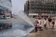 Bronx, New York City, NY - August, 1971. <br />