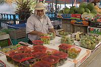 Asie/Israël/Galilée/Golan/Kyriat Shemona: étal sur le marché -figues de barbarie