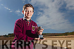 Cian Broderick from Knockaclarig National School who won the Sean Nos Dancing competition in the Scór na bPaisti.