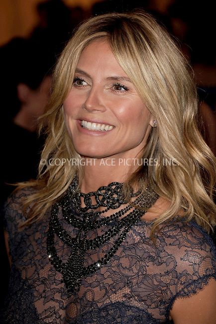 "WWW.ACEPIXS.COM . . . . . .May 7, 2012...New York City...Heidi Klum attending the ""Schiaparelli and Prada: Impossible Conversations"" Costume Institute Gala at The Metropolitan Museum of Art in New York City on May 7, 2012  in New York City ....Please byline: KRISTIN CALLAHAN - ACEPIXS.COM.. . . . . . ..Ace Pictures, Inc: ..tel: (212) 243 8787 or (646) 769 0430..e-mail: info@acepixs.com..web: http://www.acepixs.com ."