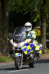 Pix: Shaun Flannery/shaunflanneryphotography.com...COPYRIGHT PICTURE>>SHAUN FLANNERY>01302-570814>>07778315553>>..21st April 2011...........A South Yorkshire Police motorcyclist rides a BMW  motorbike.