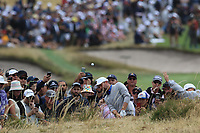 Webb Simpson (USA) on the 2nd during the Second Round - Foursomes of the Presidents Cup 2019, Royal Melbourne Golf Club, Melbourne, Victoria, Australia. 13/12/2019.<br /> Picture Thos Caffrey / Golffile.ie<br /> <br /> All photo usage must carry mandatory copyright credit (© Golffile | Thos Caffrey)