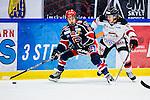 S&ouml;dert&auml;lje 2014-01-06 Ishockey Hockeyallsvenskan S&ouml;dert&auml;lje SK - Malm&ouml; Redhawks :  <br />  S&ouml;dert&auml;ljes William Nylander Altelius i kamp om pucken med Malm&ouml; Redhawks Teemu Kes&auml; <br /> (Foto: Kenta J&ouml;nsson) Nyckelord: