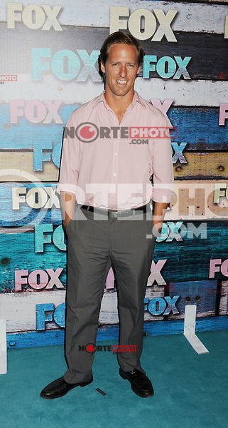 WEST HOLLYWOOD, CA - JULY 23: Nat Faxon arrives at the FOX All-Star Party on July 23, 2012 in West Hollywood, California. / NortePhoto.com<br />