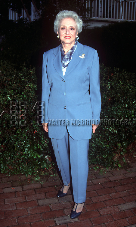 Celeste Holm in New York City at the New York Salute to the Theatre at the Gracie Mansion with the Mayor on May 30th, 1995.