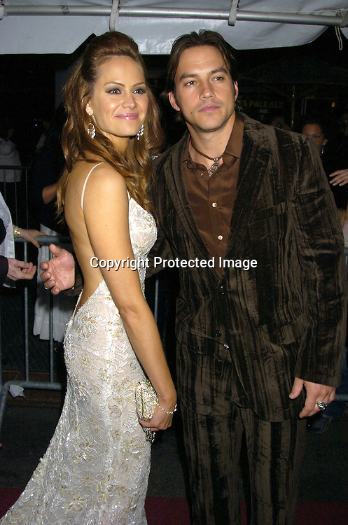 Natalia Livingston and Tyler Christopher ..arriving at The 32nd Annual Daytime Emmy Awards ..at Radio City Music Hall on May 20, 2005...Photo by Robin Platzer, Twin Images