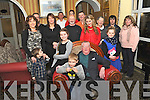 MIGHTY EIGHTY: Tony Fahey, Kenmare, who celebrated his 80th birthday in the Lansdowne Hotel, Kenmare, with his family and friends on Sunday.