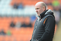 Blackpool Assistant Manager Gary Brabin<br /> <br /> Photographer Kevin Barnes/CameraSport<br /> <br /> The EFL Sky Bet League One - Blackpool v Oxford United - Saturday 23rd February 2019 - Bloomfield Road - Blackpool<br /> <br /> World Copyright © 2019 CameraSport. All rights reserved. 43 Linden Ave. Countesthorpe. Leicester. England. LE8 5PG - Tel: +44 (0) 116 277 4147 - admin@camerasport.com - www.camerasport.com