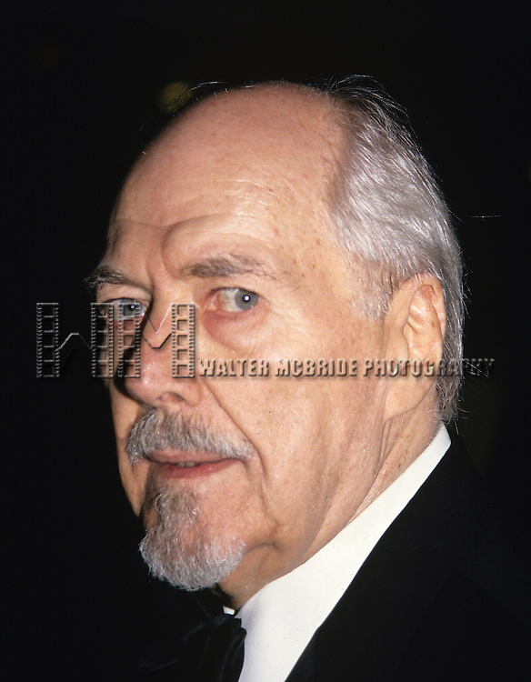 "Robert Altman pictured at the opening of ""Short Cuts"" at the N.Y. film festival at Avery Fisher hall in Lincoln Center, New York on October 1, 1993."