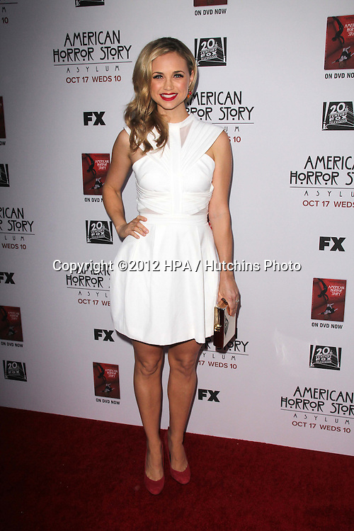 """LOS ANGELES - OCT 13:  Fiona Gubelmann arrives at the """"American Horror Story: Asylum"""" Premiere Screening at Paramount Theater on October 13, 2012 in Los Angeles, CA"""