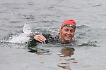Grainne Vavasour at the Green Buoy 1KM Swim in Clogherhead....(Photo credit should read Jenny Matthews/NEWSFILE)...