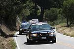 CHP at the Tour de California in Bonny Doon, CA