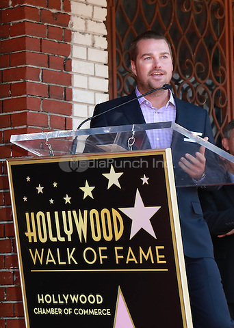 HOLLYWOOD, CA - MARCH 5: Chris O'Donnell at the Chris O'Donnell Star on the Hollywood Walk of Fame Ceremony in Hollywood, California on March 5, 2015. Credit: David Edwards/DailyCeleb/MediaPunch