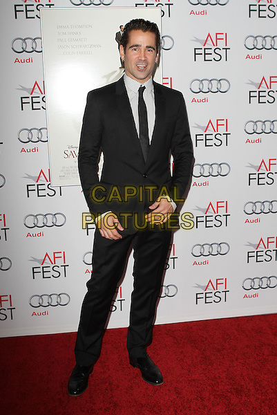7 November 2013 - Hollywood, California - Colin Farrell. AFI FEST 2013 Presented By Audi - Disney's &quot;Saving Mr. Banks&quot; Opening Night Gala Premiere Held at TCL Chinese Theatre.   <br /> CAP/ADM/KB<br /> &copy;Kevan Brooks/AdMedia/Capital Pictures