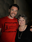 Tom Pelphrey and Pat Berry at 15th Southwest Florida Soapfest 2014 Charity Weekend with a Bartending/Karaoke get together on May 26, 2104 at Porky's, Marco Island, Florida. (Photo by Sue Coflin/Max Photos)