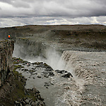Islande..Chute de Dettifoss   Islande.