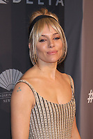 NEW YORK, NY - FEBRUARY 7: Sienna Miller at the 2018 amfAR Gala New York honoring Lee Daniels and Stefano Tonchi at Cipriani Wall Street in New work City on February 7, 2018. <br /> CAP/MPI99<br /> &copy;MPI99/Capital Pictures