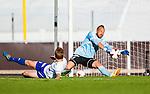 Uppsala 2014-06-26 Fotboll Superettan IK Sirius - IFK V&auml;rnamo :  <br /> V&auml;rnamos m&aring;lvakt Bj&ouml;rn &Aring;kesson r&auml;ddar ett skott i den f&ouml;rsta halvleken <br /> (Foto: Kenta J&ouml;nsson) Nyckelord:  Superettan Sirius IKS Studenternas IFK V&auml;rnamo