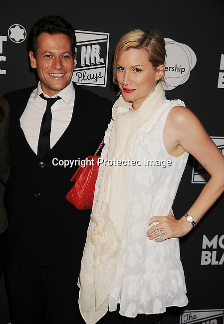 SANTA MONICA, CA - JUNE 18: Ioan Gruffudd and Alice Evans arrive for the Montblanc presents West Coast debut of The 24 Hours Plays after party at Pier 59 on June 18, 2011 in Santa Monica, California.
