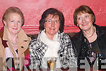 NIGHT OUT: Having a quiet chat at the Ballyduff Farmers Social in Lowe's Bar and Restaurant on Friday night were Marie O'Sullivan, Margaret Slattery and Kathleen McEnery, all Ballyduff..   Copyright Kerry's Eye 2008