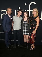 BEVERLY HILLS, CA - OCTOBER 8: Steve Carell, Nancy Carell, John Carell, Elisabeth Anne Carel, at the Los Angeles Premiere of Beautiful Boy at the Samuel Goldwyn Theater in Beverly Hills, California on October 8, 2018. <br /> CAP/MPIFS<br /> ©MPIFS/Capital Pictures