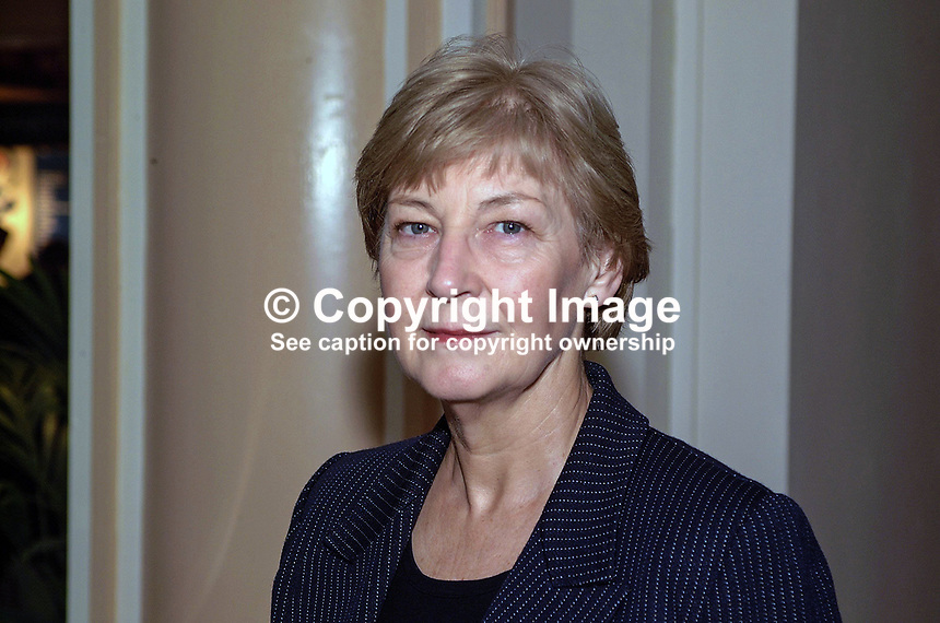 Ann Winterton, UK, Conservative Party, MP, Britain. Taken at Conservative Conference in Blackpool. Ref: 200110104253...Copyright Image from Victor Patterson, 54 Dorchester Park, Belfast, UK, BT9 6RJ..Tel: +44 28 9066 1296.Mob: +44 7802 353836.Voicemail +44 20 8816 7153.Skype: victorpattersonbelfast.Email: victorpatterson@mac.com.Email: victorpatterson@ireland.com (back-up)..IMPORTANT: If you wish to use this image or any other of my images please go to www.victorpatterson.com and click on the Terms & Conditions. Then contact me by email or phone with the reference number(s) of the image(s) concerned.