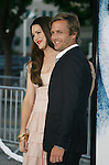 "WESTWOOD, CA. - September 09: Gabriel Macht and Jacinda Barrett arrive at the Los Angeles premiere of ""Whiteout"" at the Mann Village Theatre on September 9, 2009 in Westwood, Los Angeles, California."