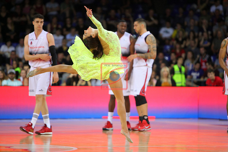 League ACB-ENDESA 201/2019.Game 38.<br /> PlayOff Semifinals.1st match.<br /> FC Barcelona Lassa vs Tecnyconta Zaragoza: 101-59.<br /> Dream Cheers.