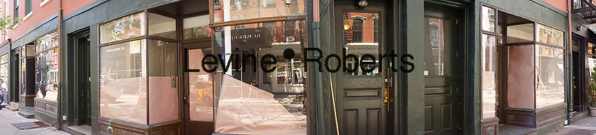 Vacant storefronts on trendy Bleecker Street in New York on Monday, June 6, 2016. (© Richard B. Levine)