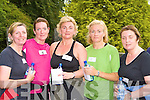 Irene O'Leary, Shelly O'Neill, Mary Cousin, Brid Stack and Bernie McAulliffe relax after the 5km fun run in aid of Kerry Hospice in Killarney on Saturday..