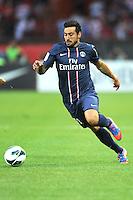Ezequiel Lavezzi (PSG) .Parigi, 04/08/2012.Trofeo di Parigi .Paris Saint Germain vs FC Barcellona.foto Insidefoto / Jean Bibard / Panoramic ..Italy Only
