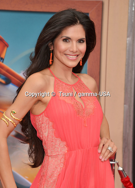 Joyce Giraud  at the Planes, Fire and Rescue Premiere at the El Capitan Theatre in Los Angeles.