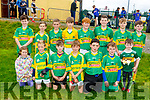 The Moyvane U12 team taking part in the Eric Mason Memorial Tournament held in Ballymac GAA club on Saturday.