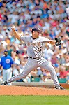 3 July 2005: Ryan Drese, pitcher for the Washington Nationals, on the mound against the Chicago Cubs. The Nationals defeated the Cubs 5-4 in 12 innings to sweep the 3-game series at Wrigley Field in Chicago, IL. Mandatory Photo Credit: Ed Wolfstein