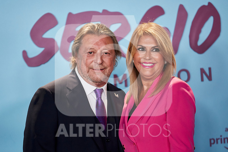 "Jose Maria Ramos and Paqui Ramos attends to ""El Corazon De Sergio Ramos"" premiere at Reina Sofia Museum in Madrid, Spain. September 10, 2019. (ALTERPHOTOS/A. Perez Meca)"