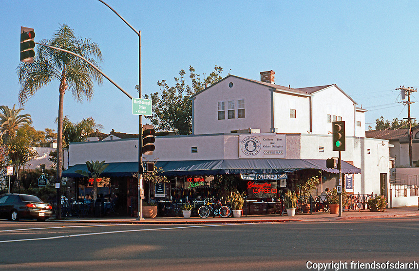 San Diego: Kensington Coffee, across from Kensington Park Plaza.