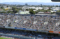 General view of the West stand. International One Day Cricket. New Zealand Black Caps v Australia. Chappell–Hadlee Trophy, Game 1. Eden Park Monday 30 January 2017 © Copyright photo: Andrew Cornaga / www.photosport.nz