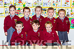 Knockaclarig NS Junior Infants who started school in Siobhan Lenihan class